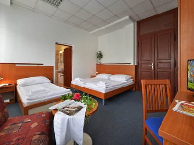 EA Hotel Populus*** - three beds room